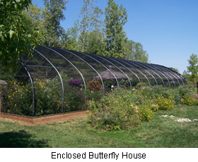 Enclosed Butterfly House